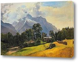 Орел и умирающий олень в 1836