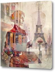 Постер Художник в Париже