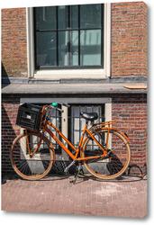 Картина Амстердамский велосипед