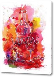 Картина In vino veritas