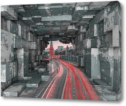 Картина Московский трафик