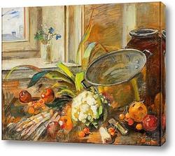 Картина Натюрморт с овощами.