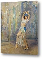 Портрет танцовщицы Анны Павловой
