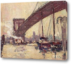 Картина Под Бруклинским мостом