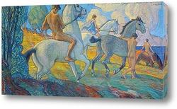 Постер Всадники на южном побережье