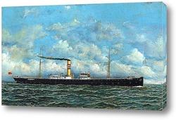 Картина Британский пароход