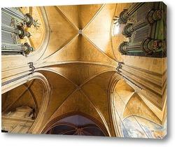 Постер Своды собора святого спасителя