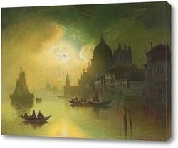 Картина Лунная ночь над Венецией