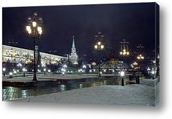 Постер Москва вечерняя.