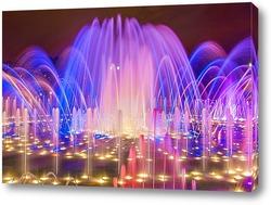 Постер Цветомузыкальный фонтан в Царицыно