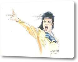 Постер Майкл Джексон