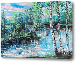 Картина Тихий пруд