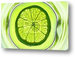 Limes and one lemon from supermarket
