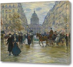 Картина Бульвар Сен-Мишель
