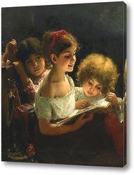 Картина Книга историй