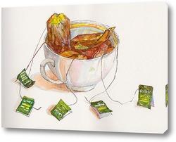 Картина Любитель чая
