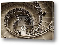 Постер Vatican staircase