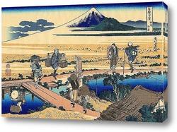 . Берег Тагоноура  в Эдзири , тракт Токайдо