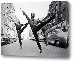 Танцующие подростки,1950г.