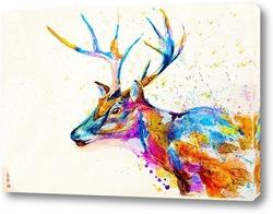 Картина Молодой олень