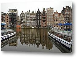 Картина Амстердам,Голландия.