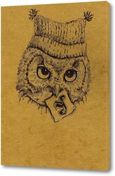 Картина Совенок в шапке