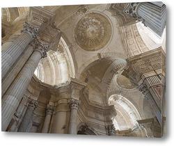 Своды кафедрального собора Кадиса