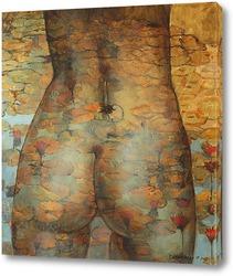 Картина Золотые лилии