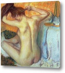 Женщина за туалетом. 1885