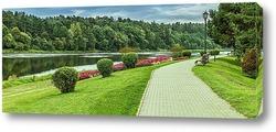 Постер Бирштонас курорт в Литве