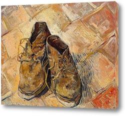 Постер Пара старых ботинок, 1888