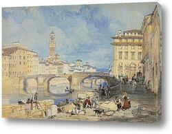 Картина Понте Санта Тринита.Флоренция