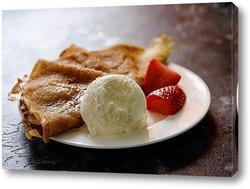 Постер Десерт на завтрак.
