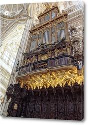 Постер Убранство кафедрального собора Мескиты
