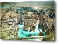 Постер Dubai
