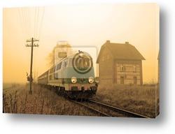 Постер Пассажирский поезд