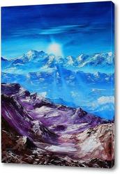 Картина Выше гор