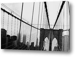 Променад по Бруклинскому мосту,1898г.