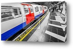 Постер Лондонское метро