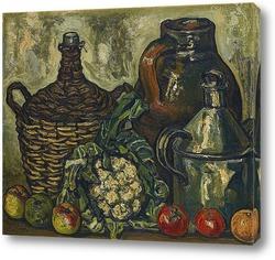 Картина Натюрморт с цветной капустой