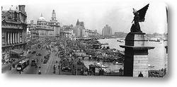Картина Набережная реки, Шанхай