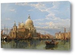 Постер Санта Мария делла Салюте, Венеция