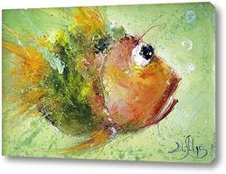 Картина Рыбка сюда