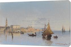 Вид Венеции с Santa Maria della Salute.