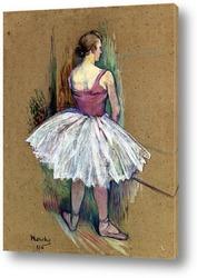 Картина Танцовщица в Пьед де Ву
