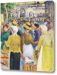 Картина Рынок птицеводства в Гисоре