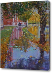 """Картина Александр Панюков """"Дождь. Донской монастырь"""""""