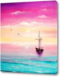 Постер Картина Море счастья