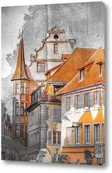 Постер Вид на улицу. Франция