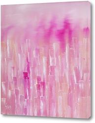 Картина Стеклянный Розовый